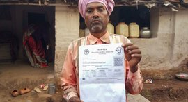 Running after ration cards in a maze in MP