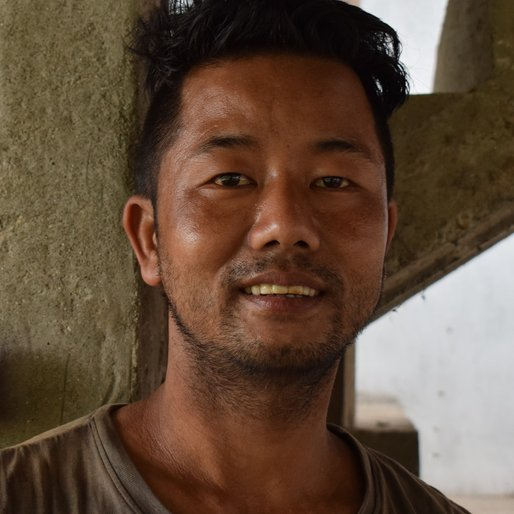 Amar Gurung is a Wage labourer from Bijanbari, Darjeeling Pulbazar, Darjeeling, West Bengal