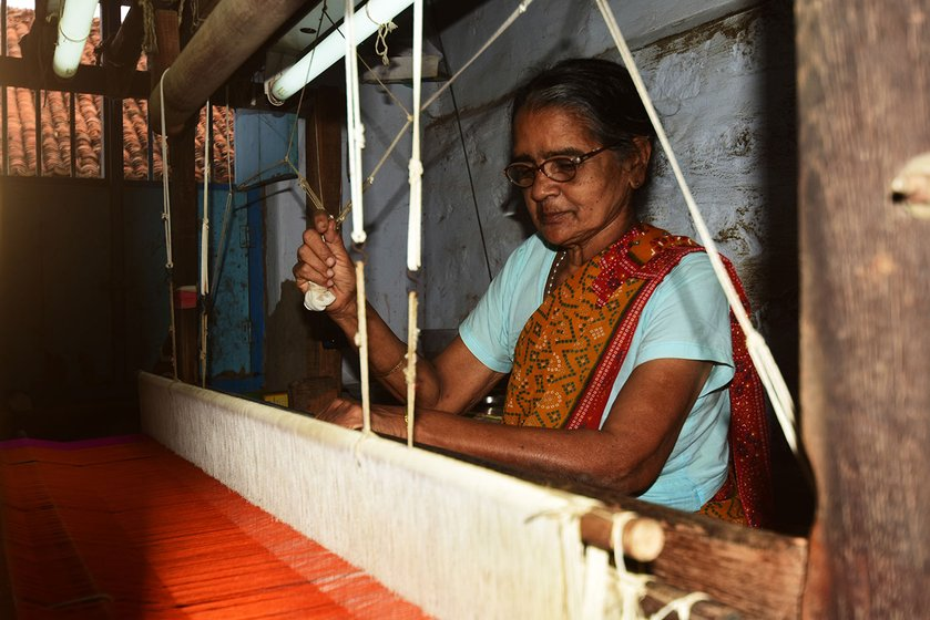 'We work all seven days of the week' says 67-year-old Saraswathi Gangadharan