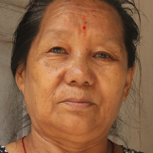 BIMLA LIMBU is a Intermittent road construction labourer from Bijanbari, Darjeeling Pulbazar, Darjeeling, West Bengal