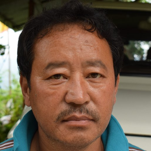 Rinchan Namgyal is a Driver from Bom Basti, Kalimpong-I, Kalimpong, West Bengal