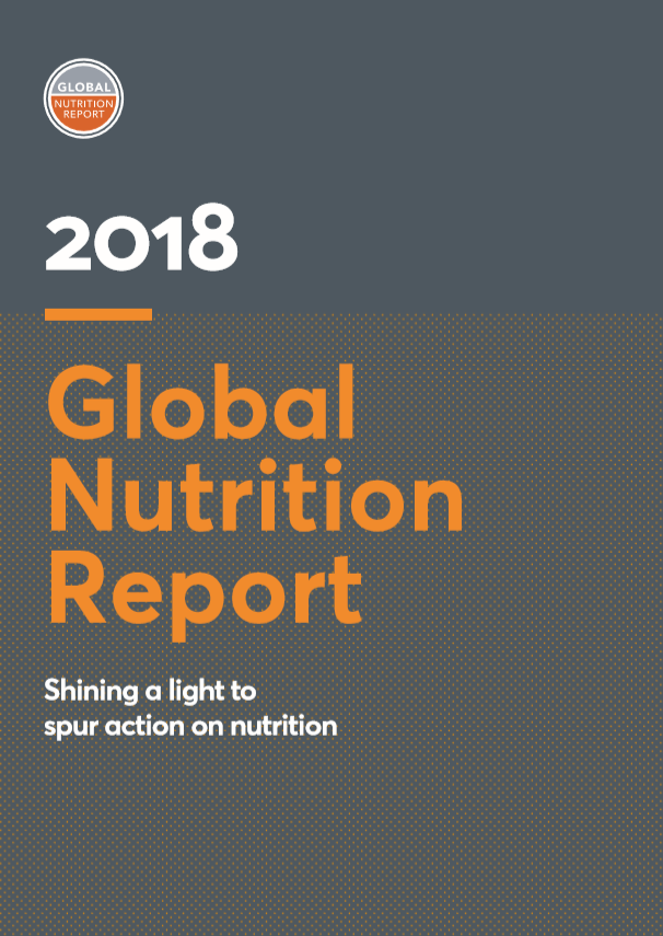 2018 Global Nutrition Report: Shining a light to spur action on nutrition