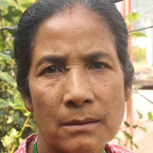 SARITA VISWAKARMA is a Homemaker from Bong Khasmahal, Kalimpong I, Kalimpong, West Bengal