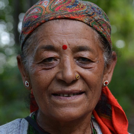 MEENA KUMARI is a Tea garden labourer from Icha Forest, Kalimpong II, Kalimpong, West Bengal