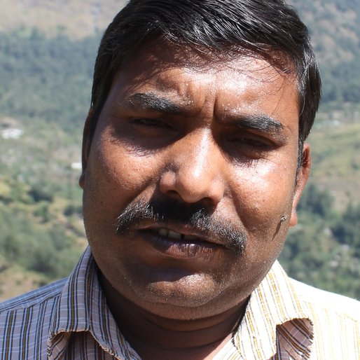 Jitpal Lal is a Construction worker from Machkandi, Augustmuni, Rudraprayag, Uttarakhand