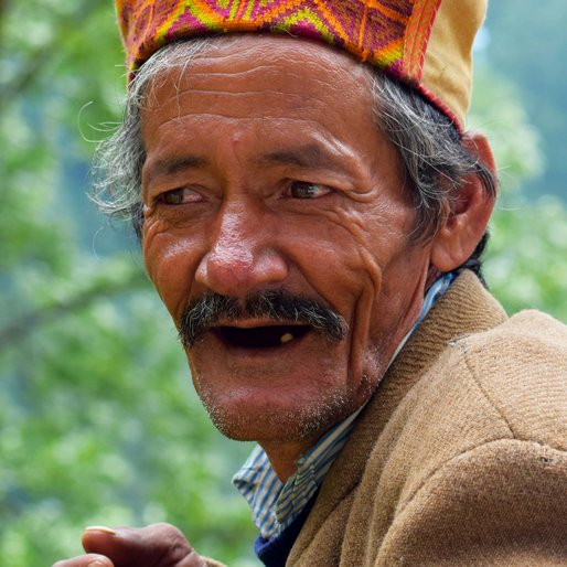 Kethram is a Farmer from Jana, Naggar, Kullu, Himachal Pradesh