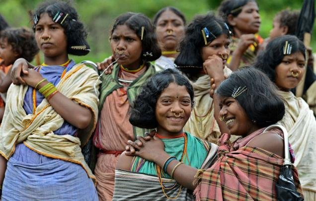 Group of tribal women