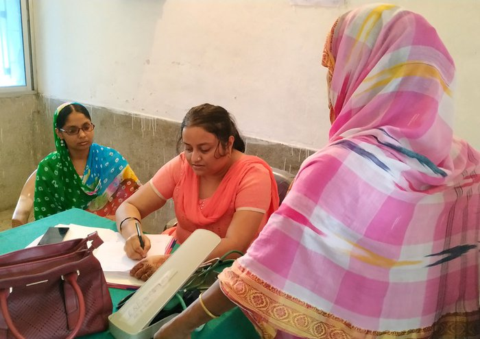 Dr. Mantasa at the Chattar Gachh referral centre in Kishanganj's Pothia block:. 'A big part of my day goes in talking to women about family planning...'
