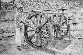 The last cart, the last craftsmen of Haroli