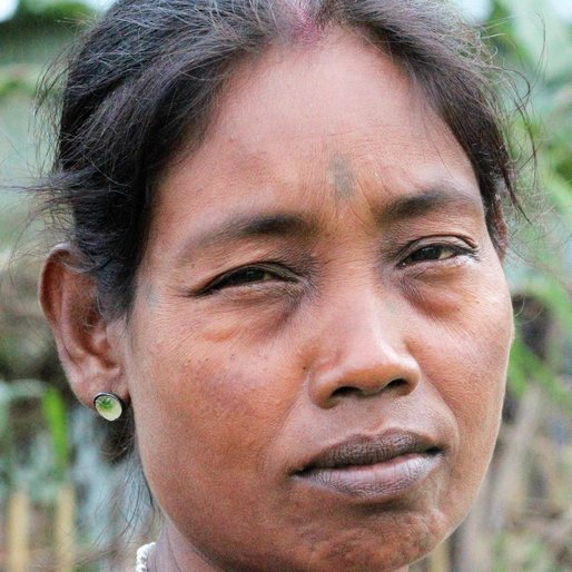 BASANTI ORAO is a Tea garden worker from Dholabari, Mal, Jalpaiguri, West Bengal