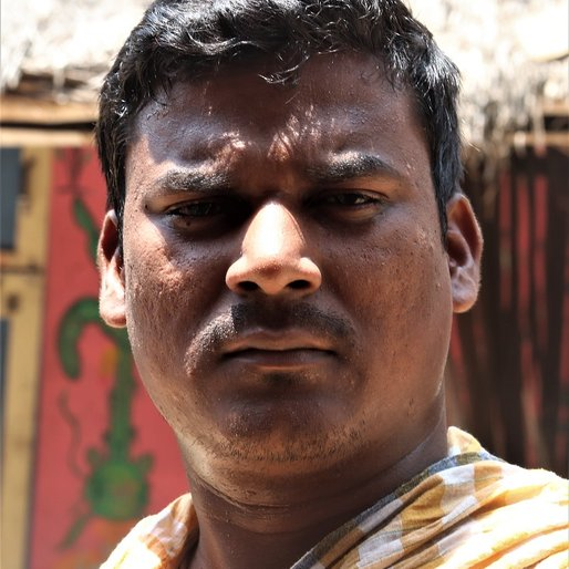 Ananda Behera is a Works as a helper in a temple from Golara, Brahmagiri, Puri, Odisha
