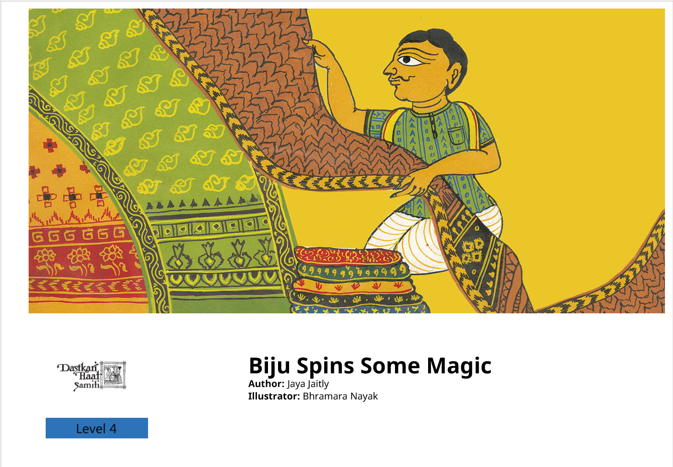 Biju spins some magic