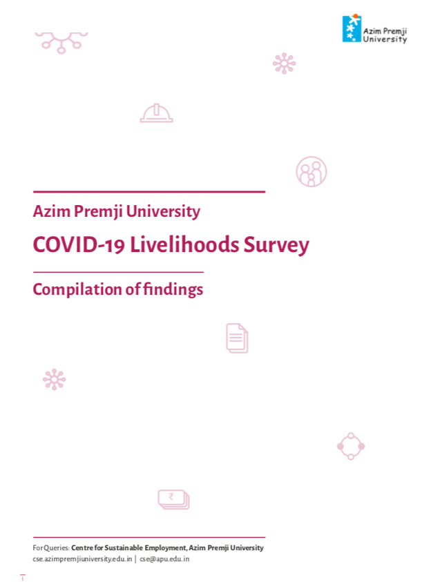 COVID-19 Livelihood Survey: Compilation of findings