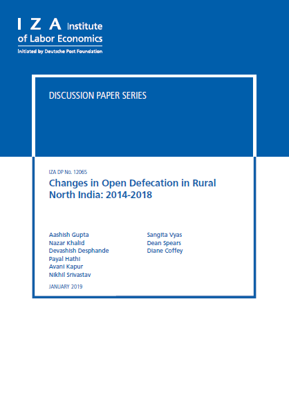 Changes in Open Defecation in Rural North India 2014-18