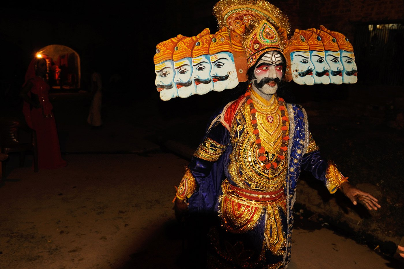 Artist in a role of Ravan