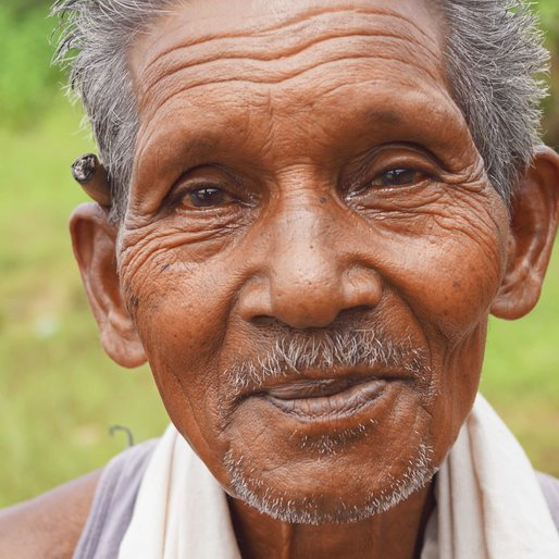 JAGANNATH THAPA is a Brick kiln labourer and marginal farmer from Kusmal, Khariar, Nuapada, Odisha