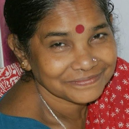 BASUMATI HALDER is a Domestic worker from Jamtala, Shyampur, Kakdwip, West Bengal