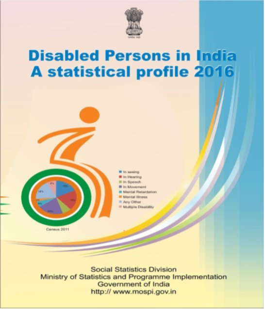 Disabled Persons in India: A statistical profile 2016