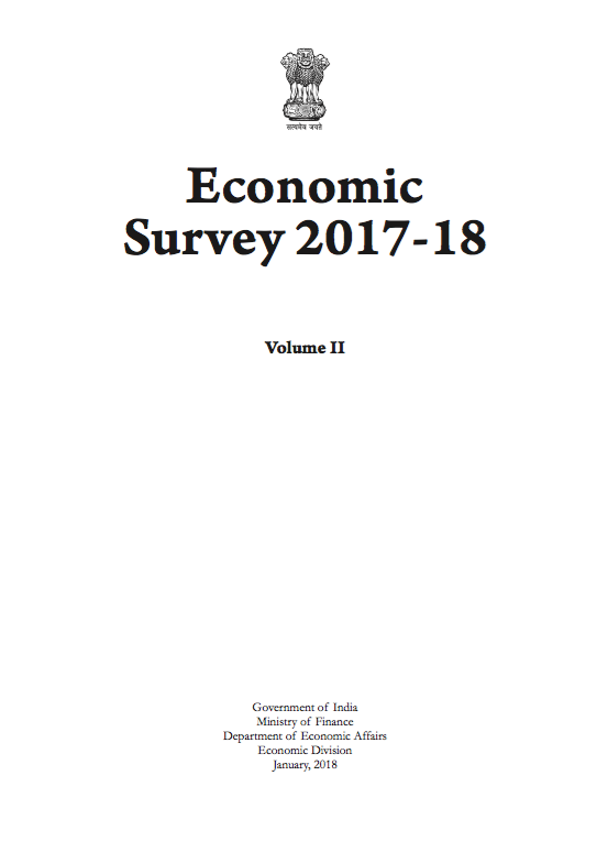 Economic Survey 2017-18: Volume II