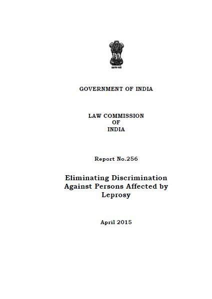 Eliminating Discrimination Against Persons Affected by Leprosy
