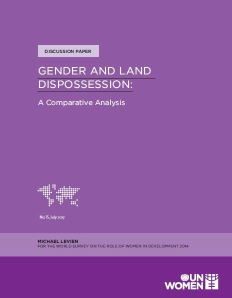 Gender and Land Dispossession: A Comparative Analysis
