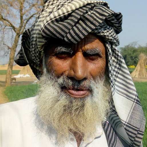 Haji Bashir is a Farmer (cultivates wheat, millet and mustard) from Mahoon, Ferozpur Jhirka, Nuh, Haryana