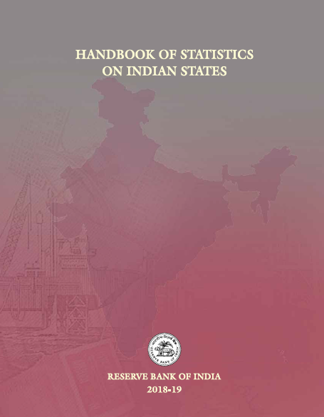 Handbook of Statistics on Indian States 2018-19