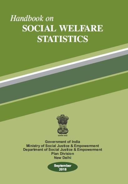 Handbook on Social Welfare Statistics, 2018