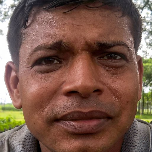 BISWAJIT ROY is a Contract labourer from Balindi, Haringhata, Nadia, West Bengal