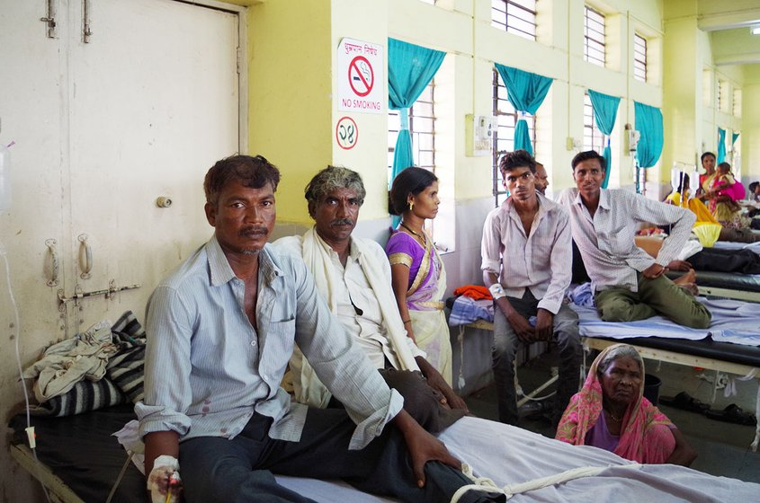 Raghunath Shankar Kannake, 44, a marginal farmer, was among the tens of farmers who were admitted to Ward 19, of the Yavatmal Government Medical College and Hospital, during the September-November 2017 incidence following accidental inhalation of pesticide while spraying it on their farms