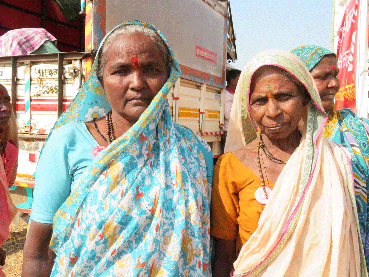 Two women farmer