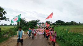 Polavaram's dispossessed march with hope