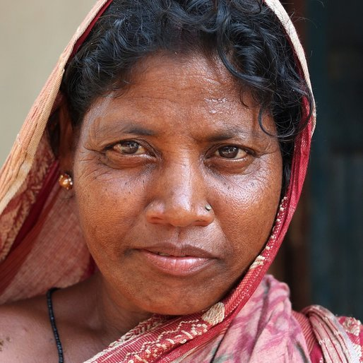Shrimati Nayak is a Daily wage farm labourer from Budhikapudi, Patana, Kendujhar, Odisha
