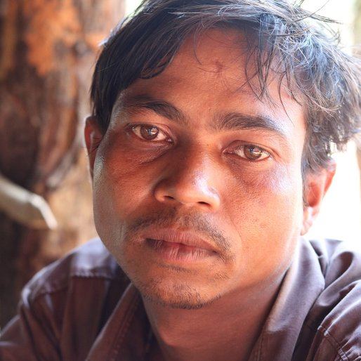 Lembu Dehuri is a Daily wage farm labourer from Sasanga, Hatadihi, Kendujhar, Odisha