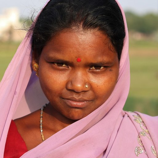 Manjulata Patro is a Daily wage construction site labourer from Teliarsala, Jhumpura, Kendujhar, Odisha