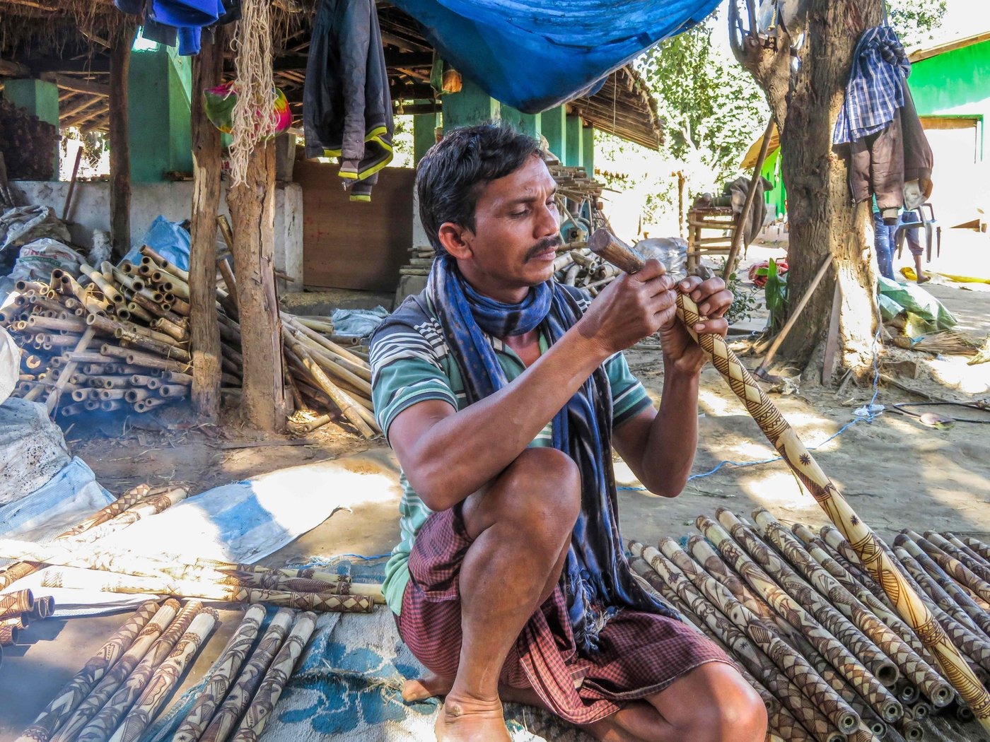 Maniram Mandawi, a flute-maker from the Gond Adivasi community in Chhatisgarh's Narayanpur district, recalls a time when forests were rich in animals, trees and bamboo for his signature 'swinging flute'