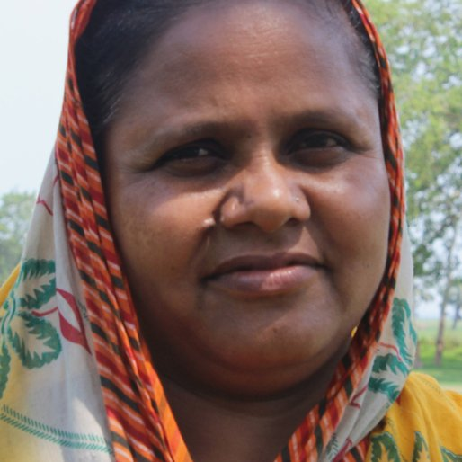 Rezwan Bibi is a Daily wage labourer from Indrani, Khargram, Murshidabad, West Bengal