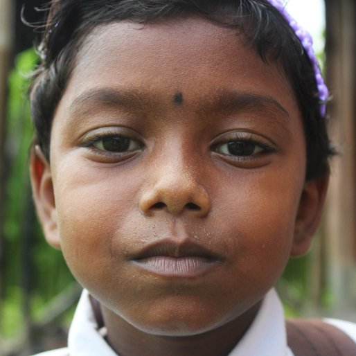 Nandini Hazra is a Class 1 student from Kalitala , Beldanga-I , Murshidabad, West Bengal