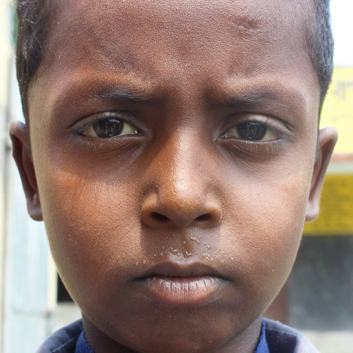 Ranjit Das is a Class 3 student from Kalitala , Beldanga-I , Murshidabad, West Bengal