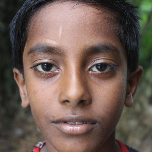 Arpan Mondal is a Class 6 student  from Bamnabad, Ranin