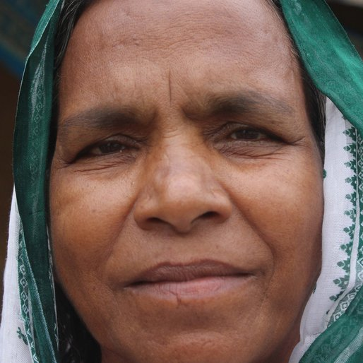 Sarai Bibi is a Homemaker; other occupation details not recorded  from Bil Panchthupi, Bharatpur-I, Murshidabad, West Bengal