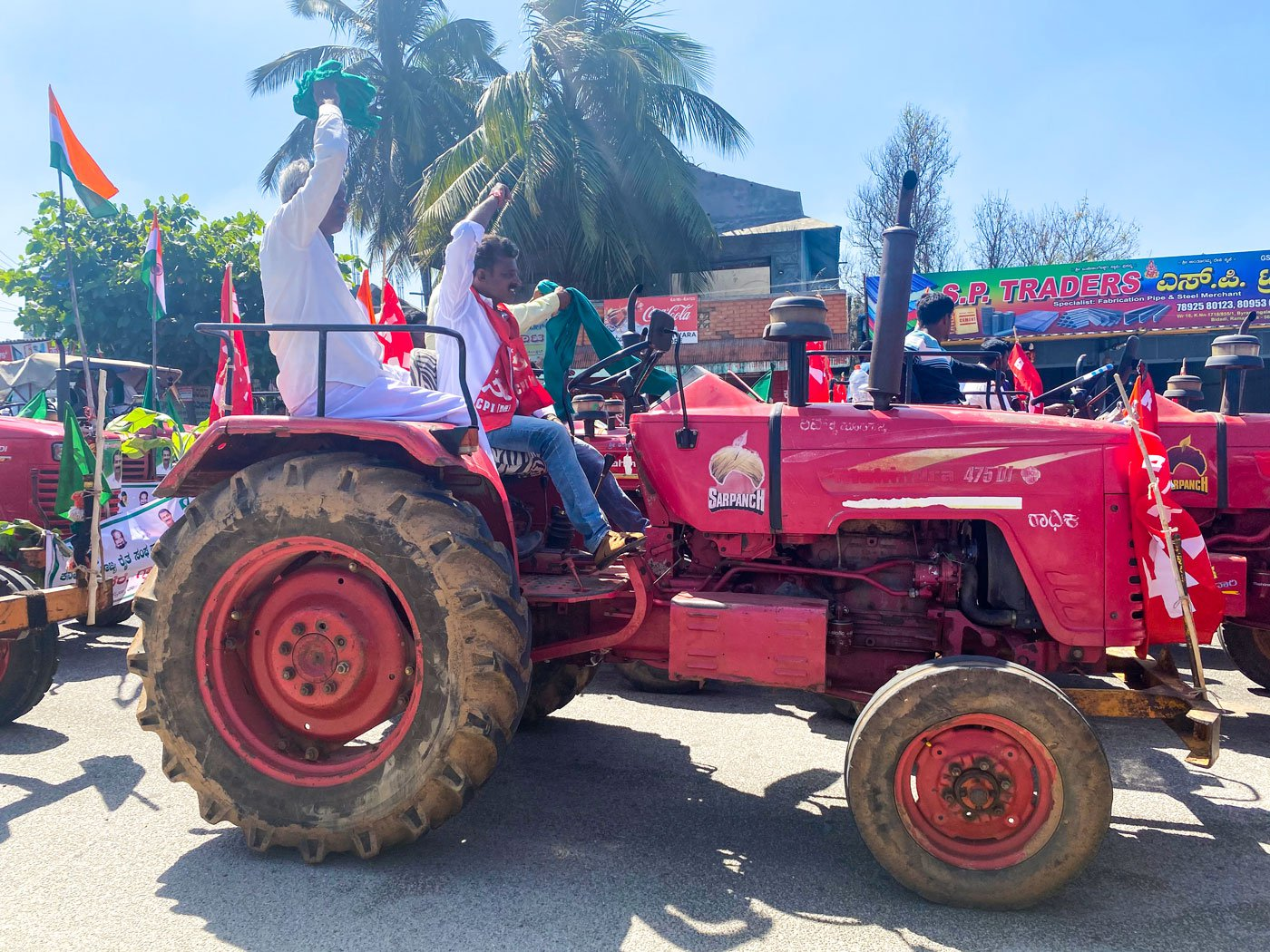 The new farms laws impact farmers all over India, say farmers from across Karnataka. Many of them joined the tractor parade in Bengaluru on Republic Day to support the farmers protesting in Delhi against the laws