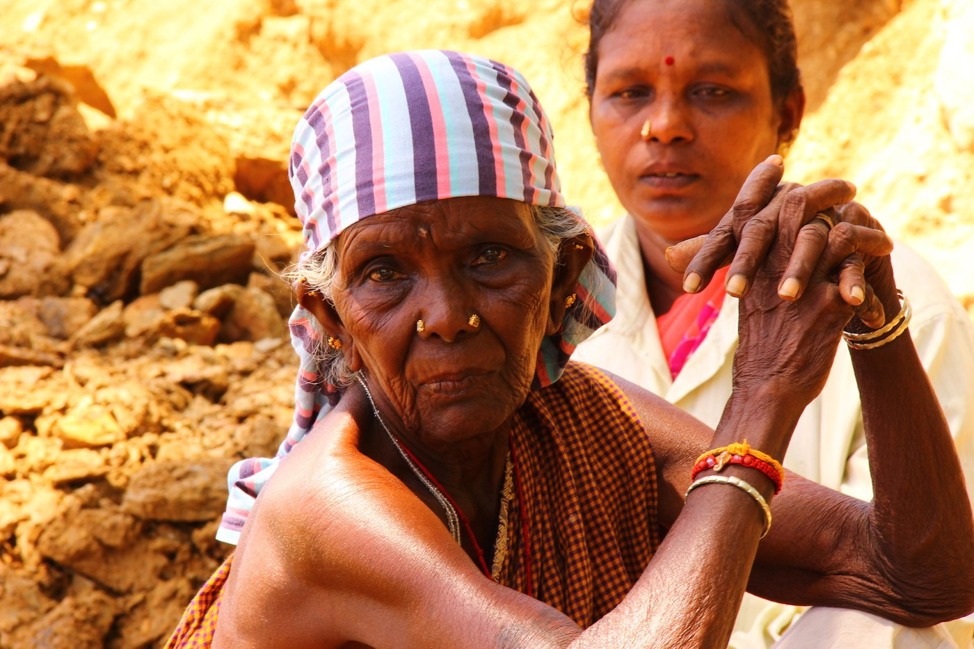 These women dig wells for others in Sivagangai district, Tamil Nadu but have no water for themselves