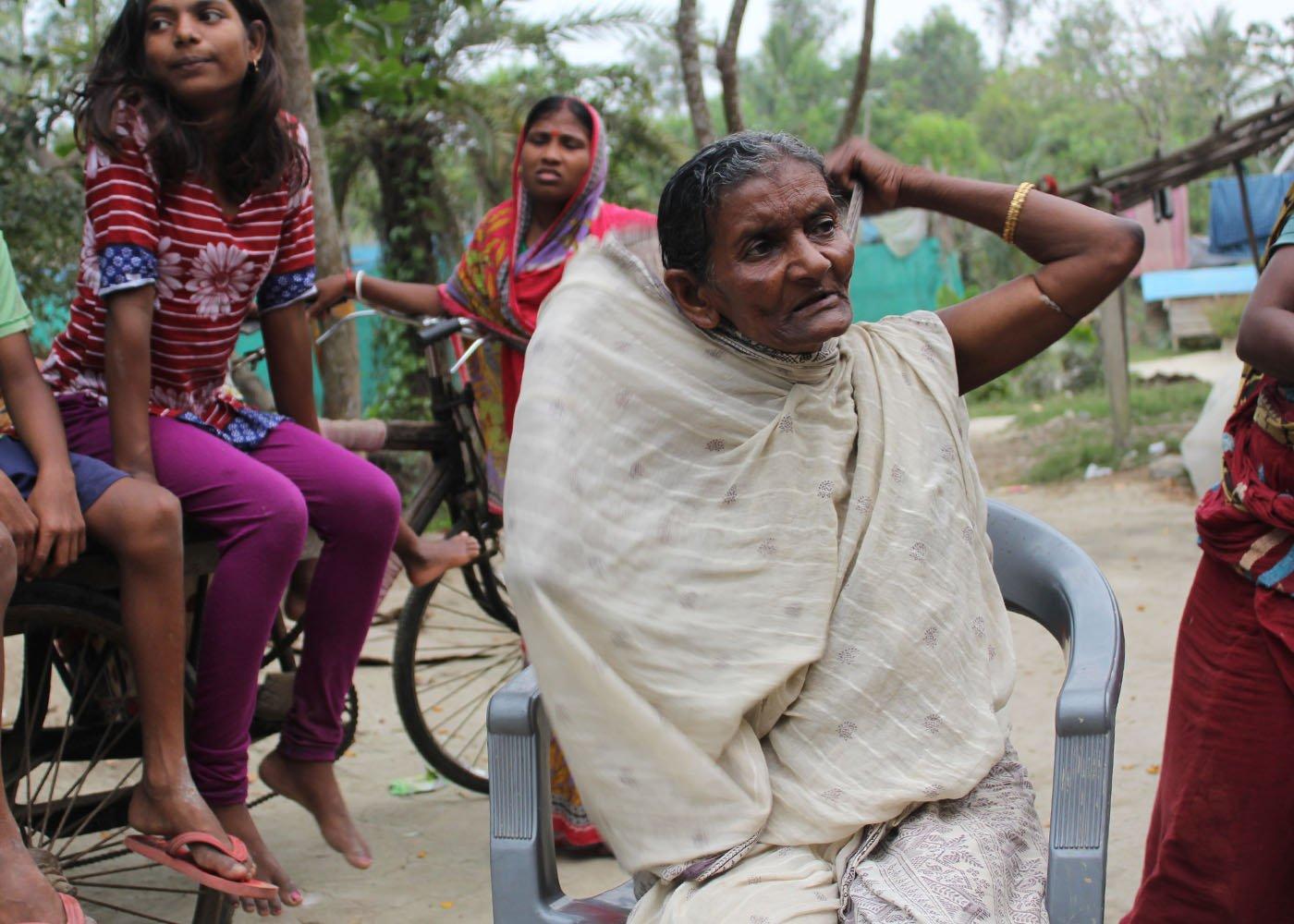 Purnima Bhuyan shifted to Sagar island in 1993