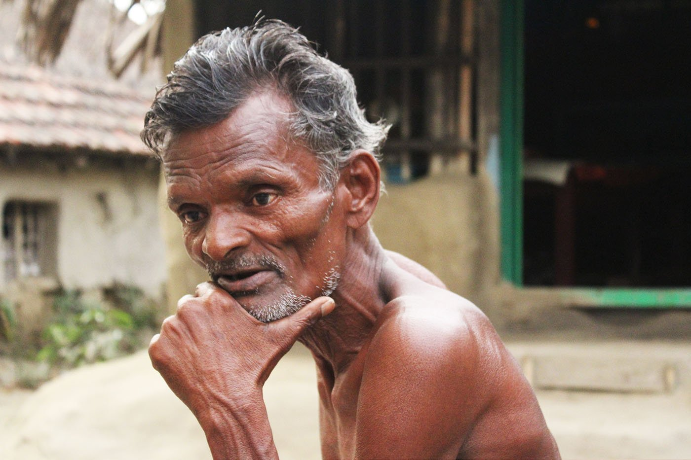 Montu Mondal migrated after his house was destroyed
