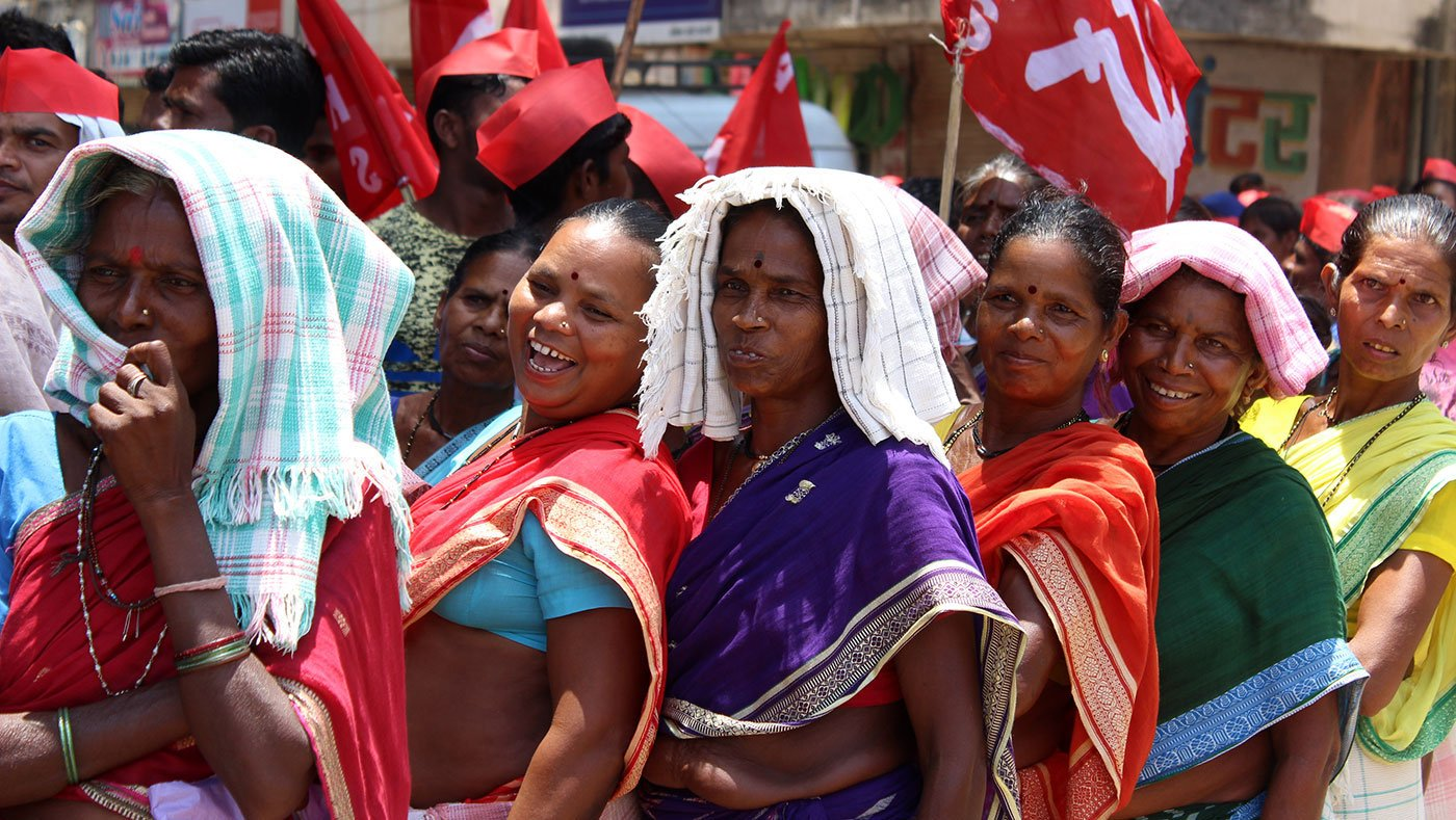 Farmers' March in Dahanu