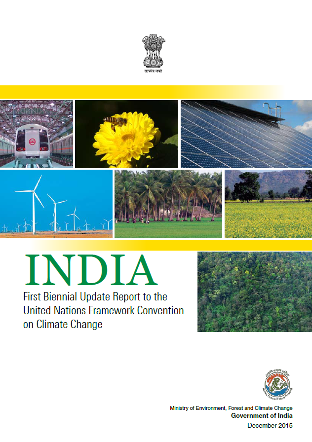 India: First Biennial Update Report to the United Nations Framework Convention on Climate Change