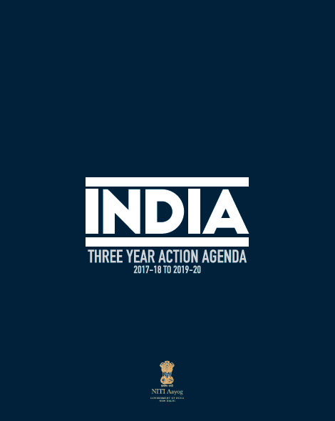 India: Three year Action Agenda (2017-18 to 2019-2020)