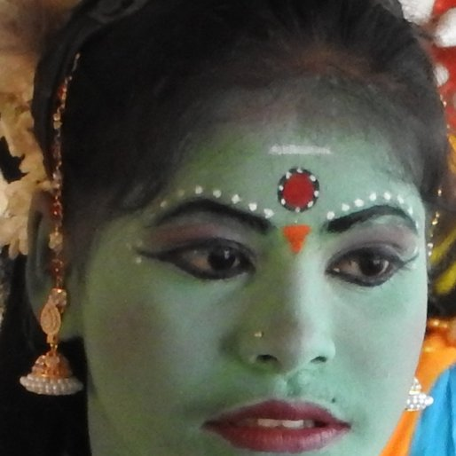 ADINARAYANAN BHARATHI is a Student, and an artist at the Kattaikkuttu Gurukulam (in the role of Draupadi) from Kalavai, Arcot, Vellore, Tamil Nadu