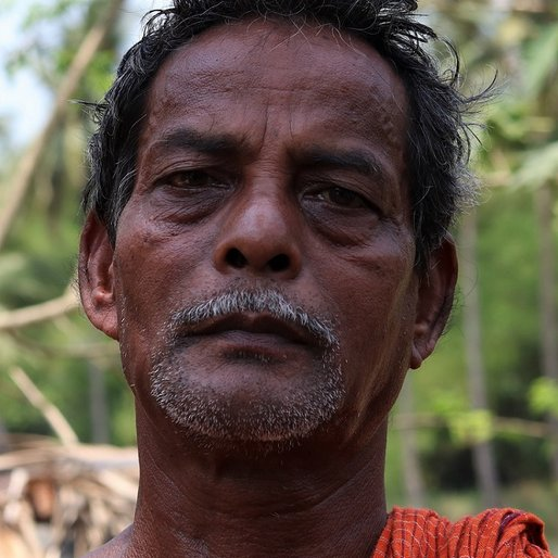 Kailash Chandra Bhui is a Daily wage construction labourer from Kusikana, Nimapada, Puri, Odisha